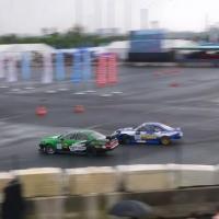 D1 GrandPrix中国飘移大奖赛雨中开战