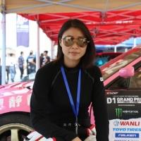 上空的幸福感!D1GP中国杯女车手吴冰