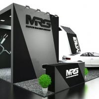 保时捷718的声音 来MRG排气展台