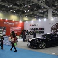 RAVIZE台湾轮毂登陆GT Show展台