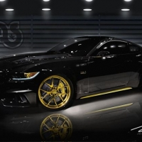 改装五十周年福特Mustang备战SEMA