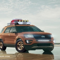福特将携四款探险者概念车亮相SEMA展